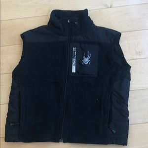 Boys Sz M Spyder Fleece Vest